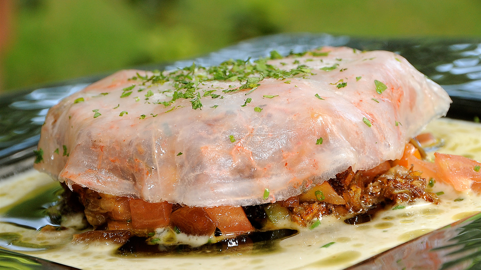 Recetas De Cocina De Verano | Carpaccio De Tomates Datiles Y Gambas Con Ajoblanco Inmaculada