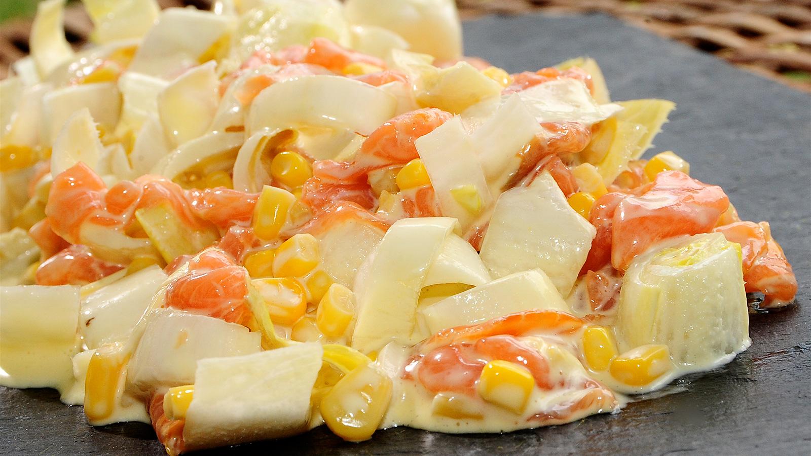 Ensalada De Endibias Salmón Y Maíz Cocina De Verano Ep 18