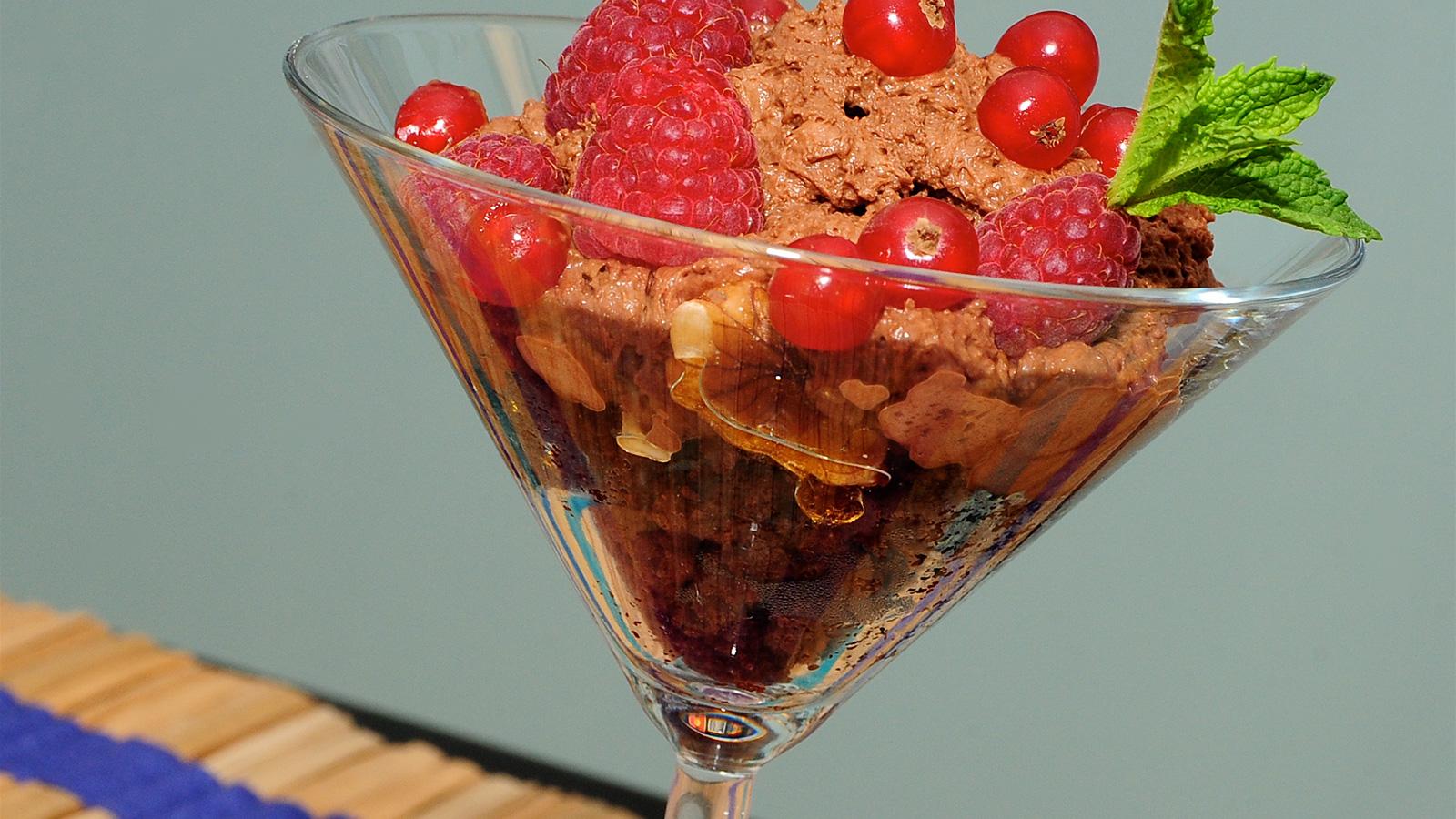 Brownie con espuma de chocolate a la pimienta dar o - Cocina y cia ...