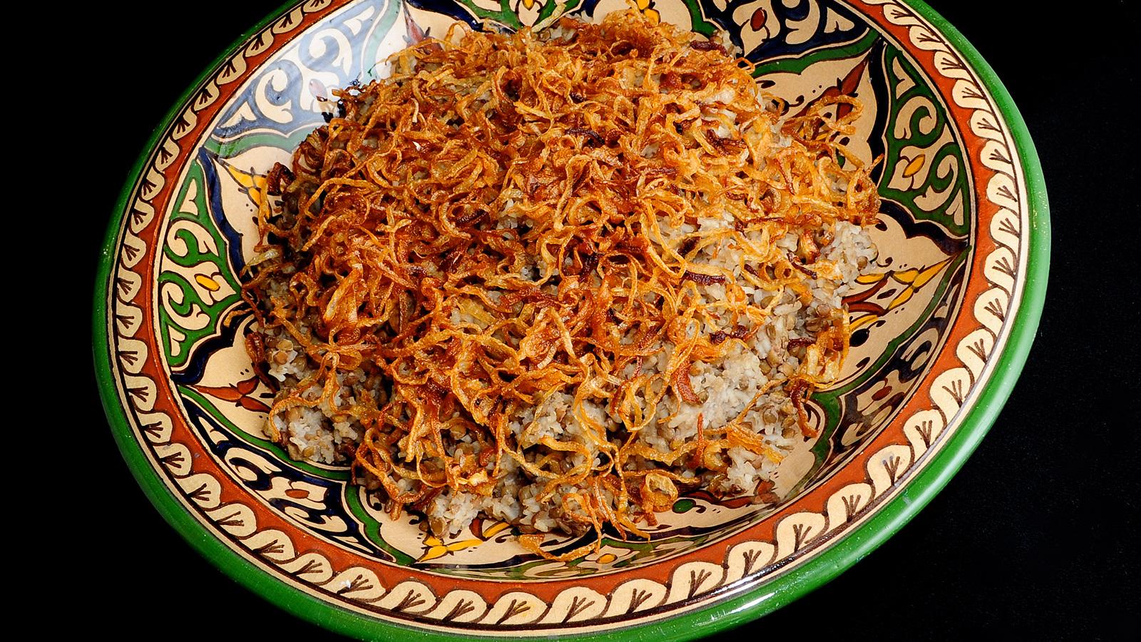 Mjaddara Arroz Con Lentejas Cocina árabe Ep 15