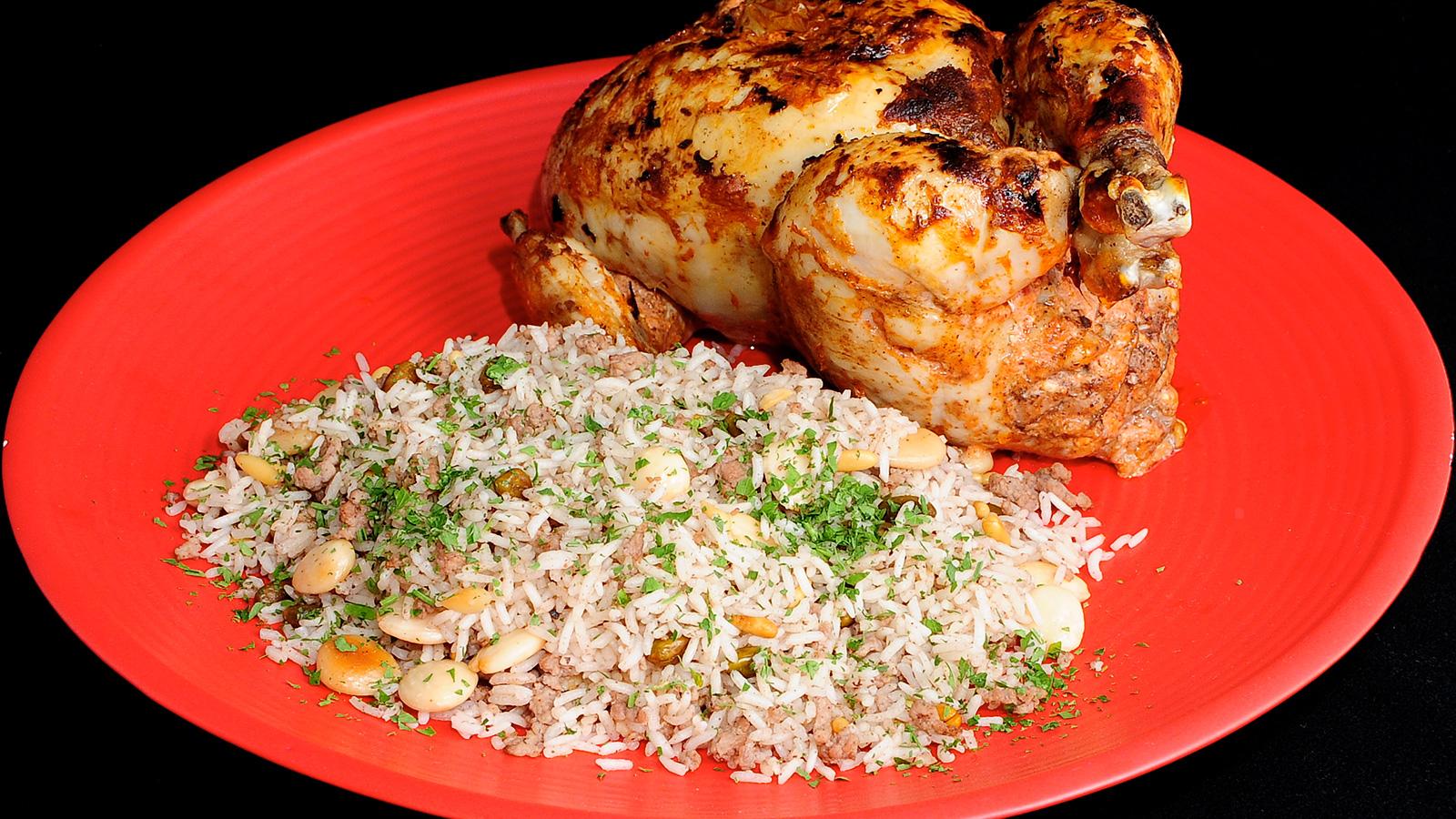 Jaj Mahshy Pollo Relleno Cocina árabe Ep 21
