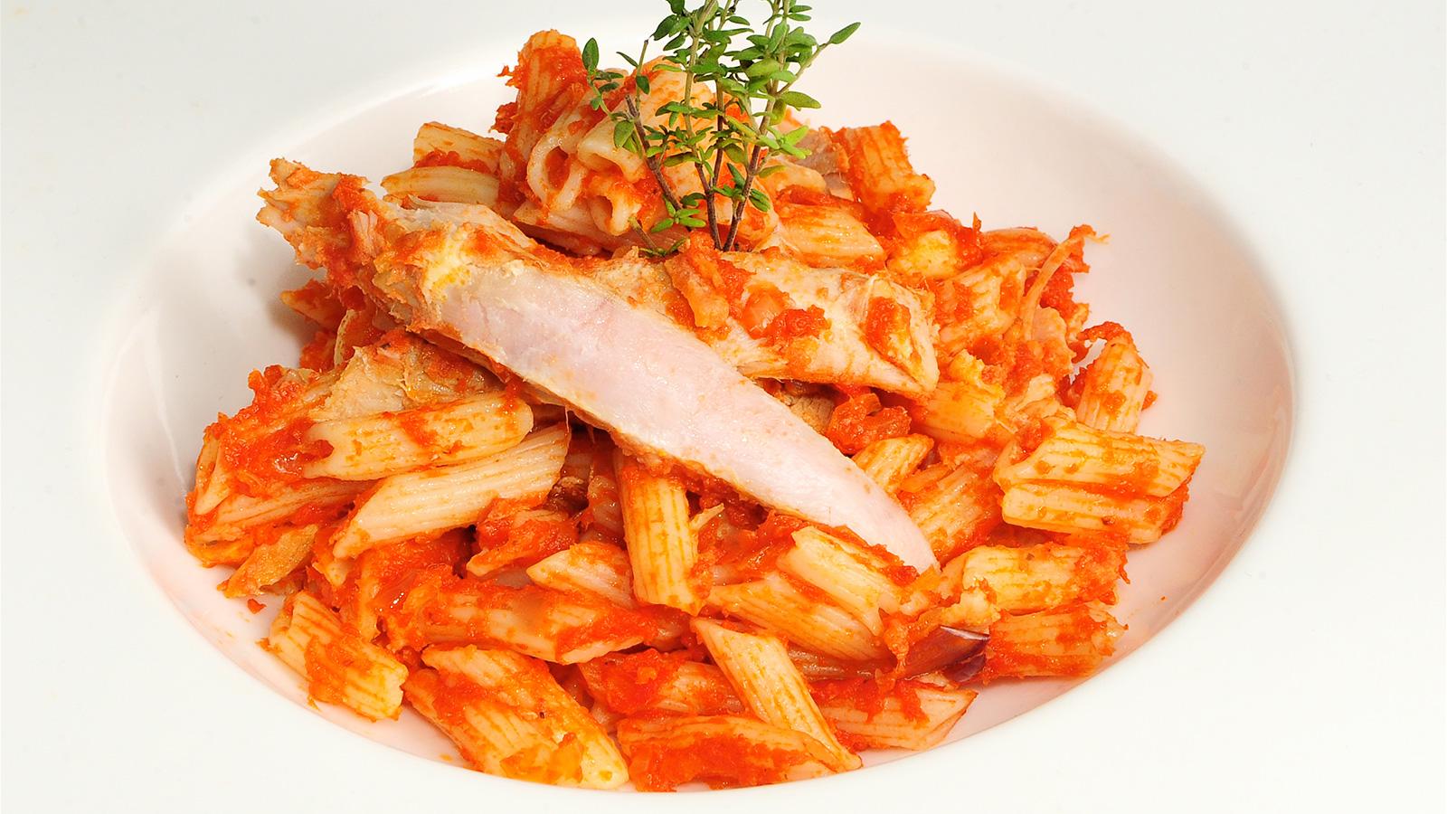 Macarrones al horno sergio fern ndez receta canal cocina - Macarrones con verduras al horno ...