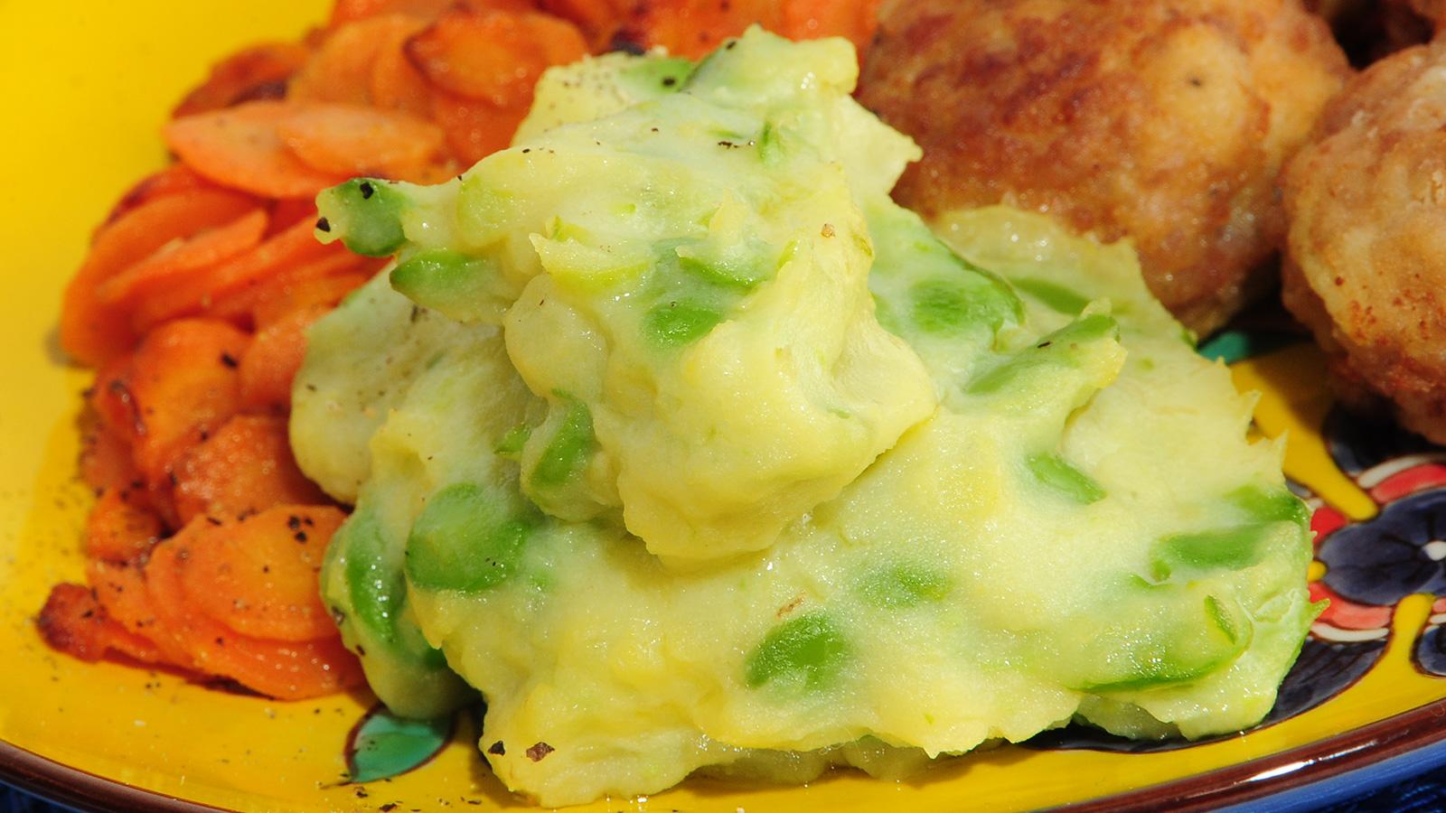 Pur de patatas y habas samantha vallejo n gera for Programas de cocina en espana
