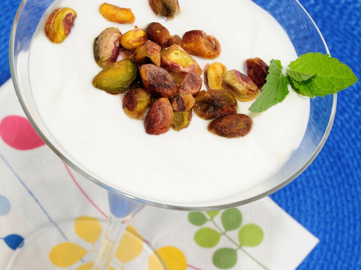 Yogur con pistachos y miel samantha vallejo n gera for Programas de cocina en espana
