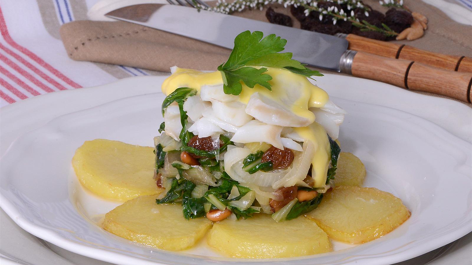 Milhojas de bacalao samantha vallejo n gera samantha de for Canal cocina cocina de familia