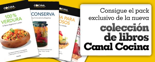 Concurso colecci n de libros canal cocina canal cocina for Canal cocina concursos