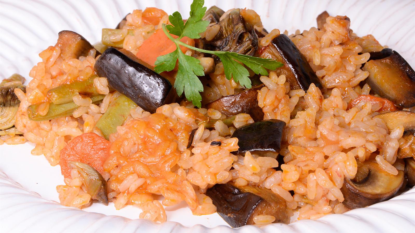 Arroz con verduras i igo p rez urrechu receta canal - Arroz con verduras light ...