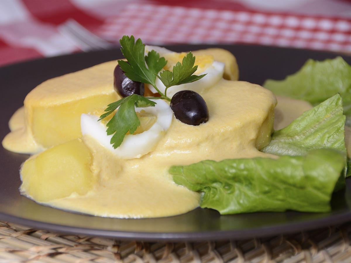 Patata a la huanca na anil cig e as receta canal cocina for Cocina peruana de vanguardia
