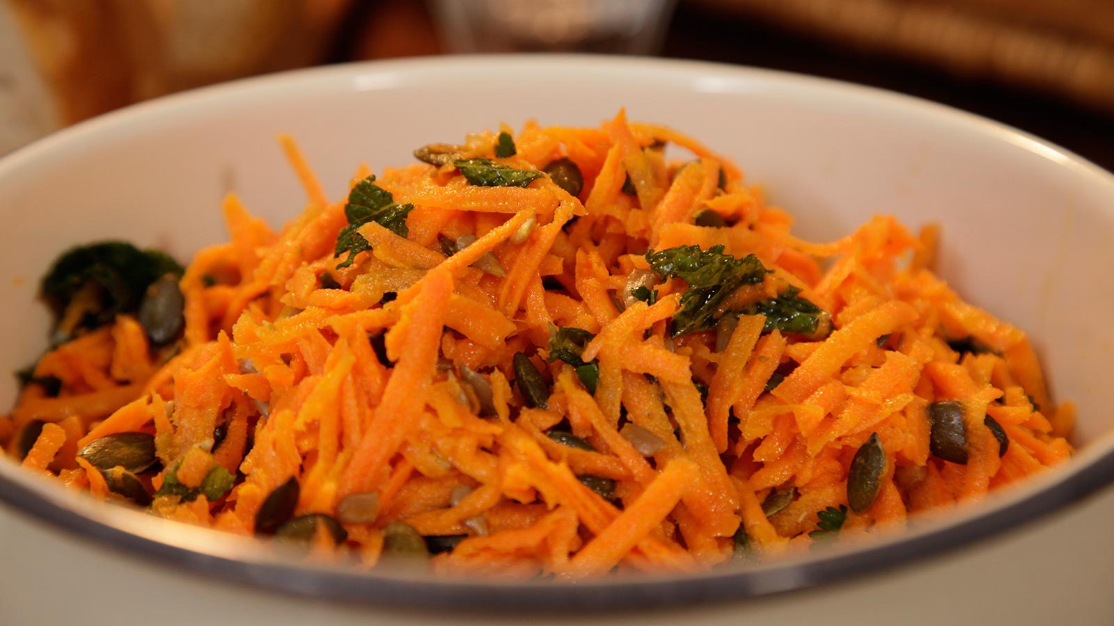 Ensalada de zanahoria rallada comino y naranja carrot - Ensalada de apio y zanahoria ...
