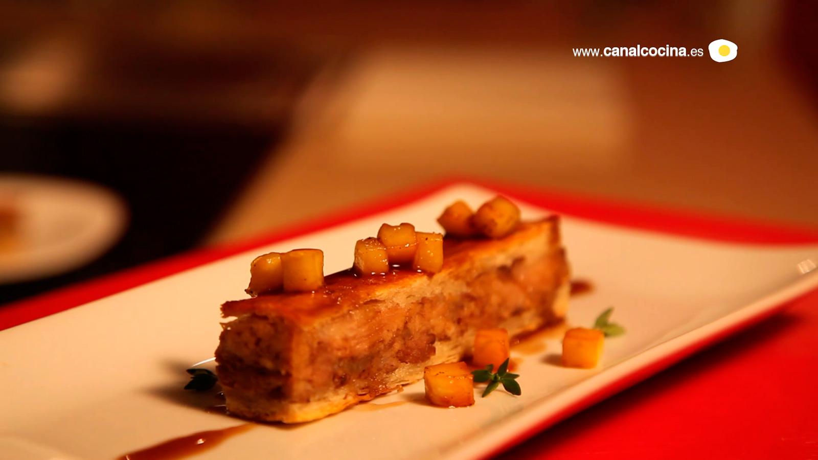 Pincho la empapada amaya bezunartea video receta for Canal cocina tapas