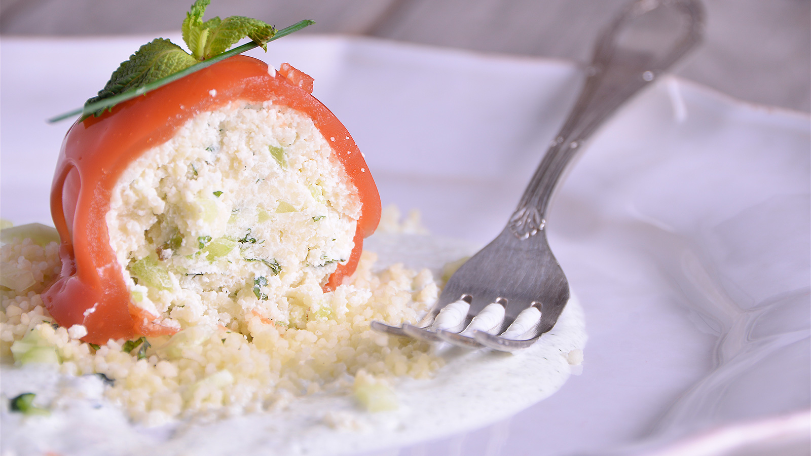 Tomate de tabul con salsa refrescante diana cabrera for Diana cabrera canal cocina