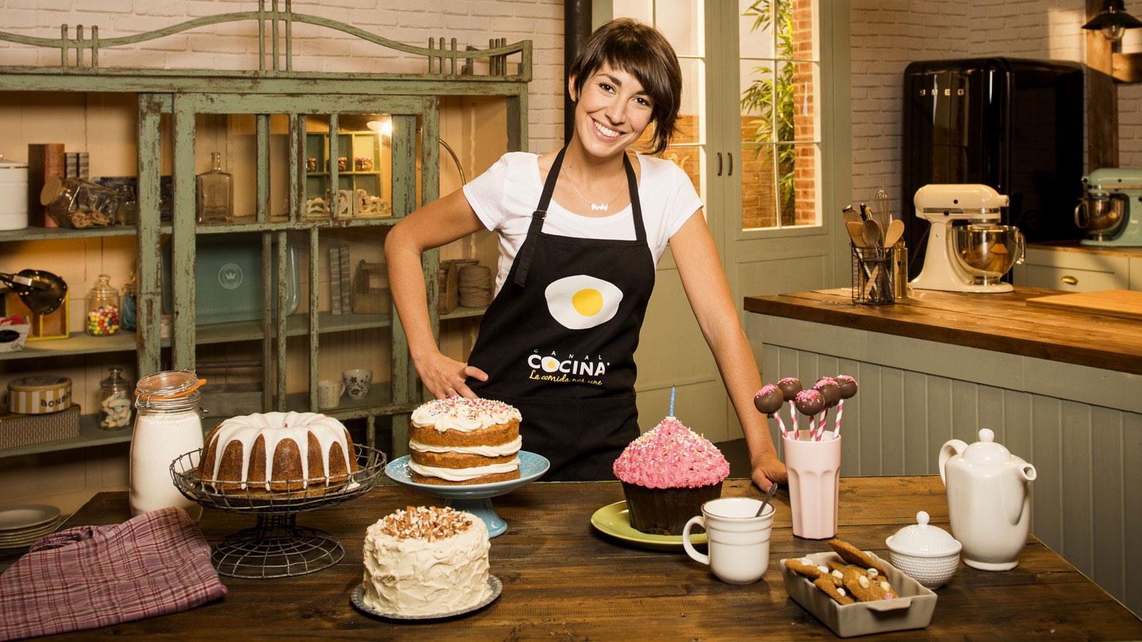 Alma obreg n la reina del cupcake especiales canal cocina for Canal cocina cocina de familia