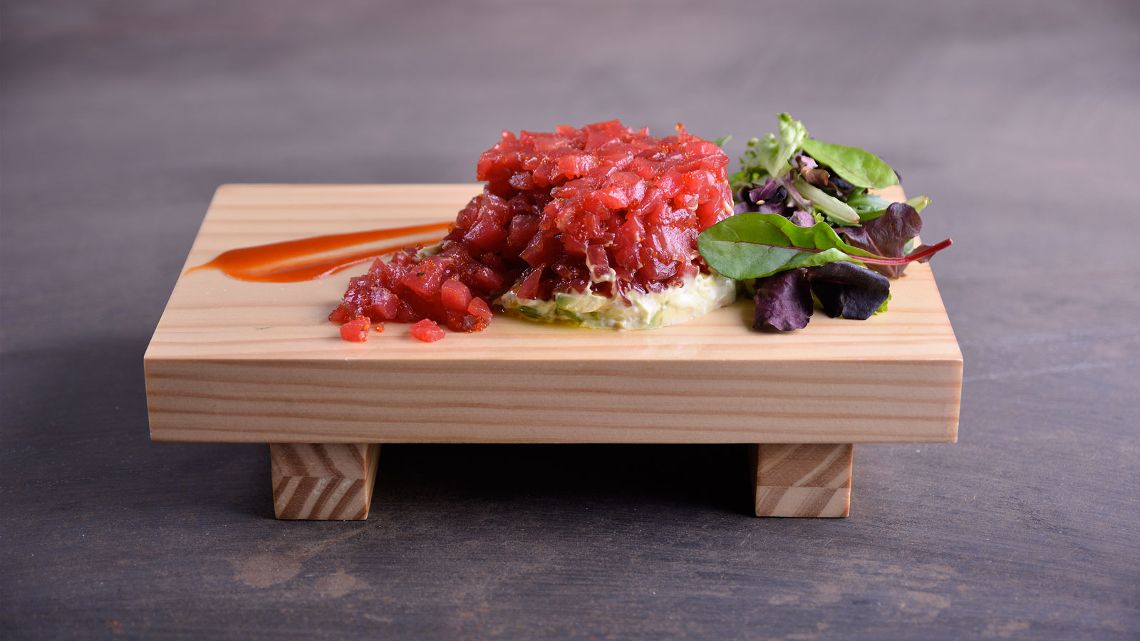 Como Cocinar Atun Rojo | Tartar De Atun Rojo Con Salsa Sriracha Hung Fai Chiu Chi Video