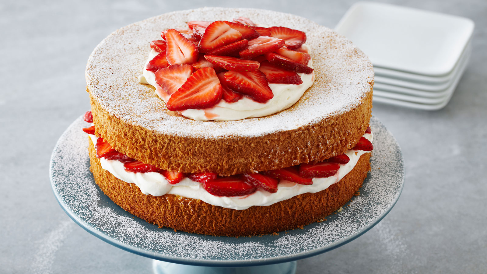 How To Make Filling For Victoria Sponge Cakes