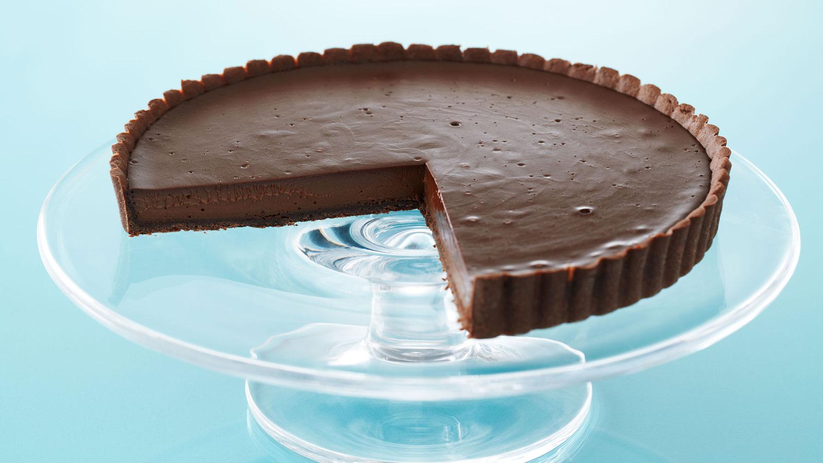 Tarta De Chocolate Tarte Au Chocolat Anna Olson Receta
