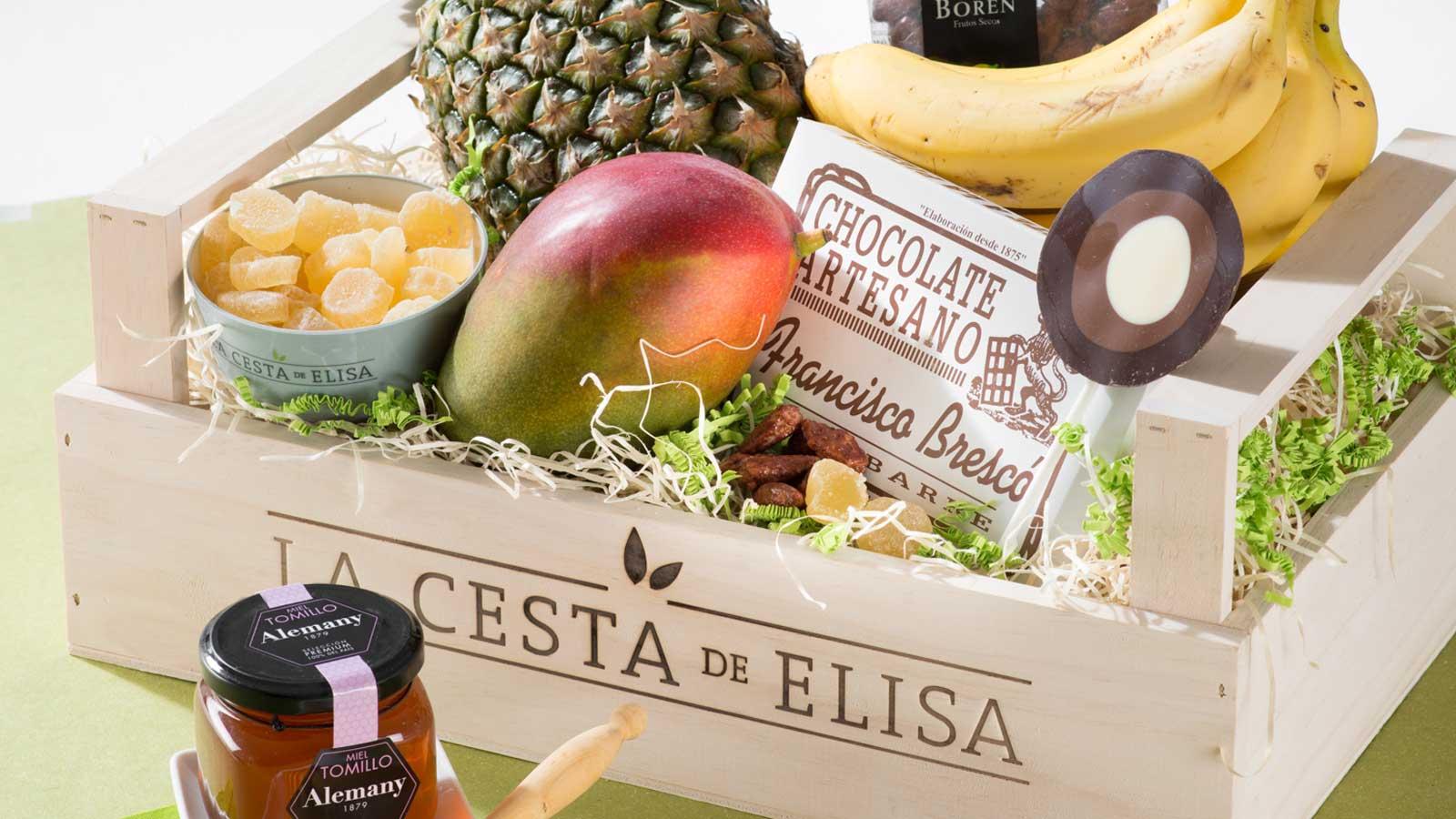 Frutas para regalar y llevar a la oficina con la cesta de elisa especiales canal cocina - Fruta en la oficina ...