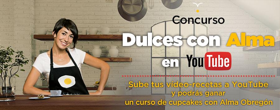Dulces con alma en youtube canal cocina for Canal cocina alma obregon