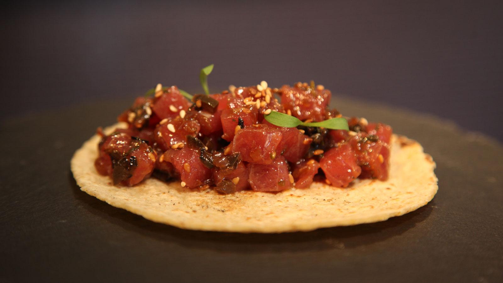 Tacos De Atún Rojo De Almadraba Salsa De Chile Serrano Y Limón Verde El Rey Del Pincho T2 Ep 27