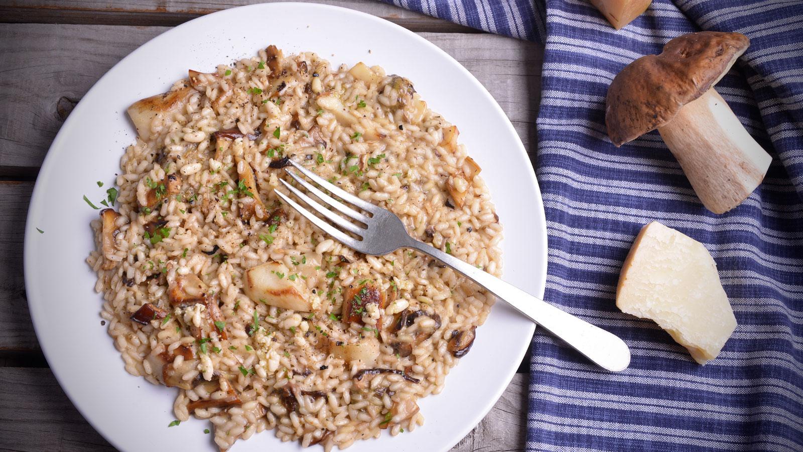 10 recetas con setas f ciles y ricas para cocinar este for Como cocinar risotto de setas