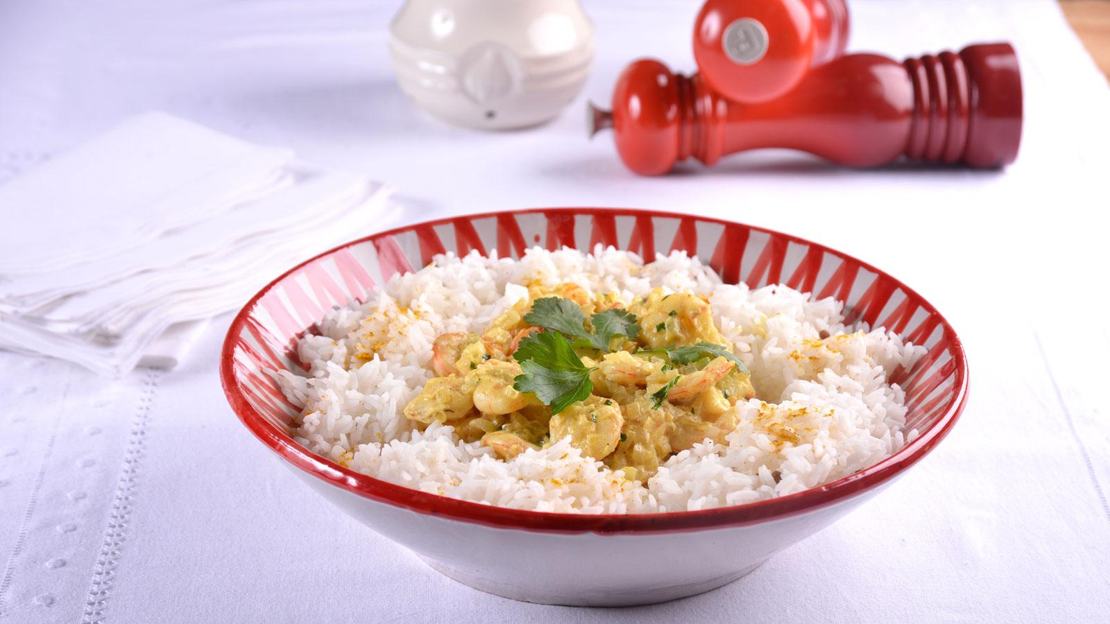 Curry de gambas y leche de coco con arroz jazm n elena for Canal cocina cocina de familia