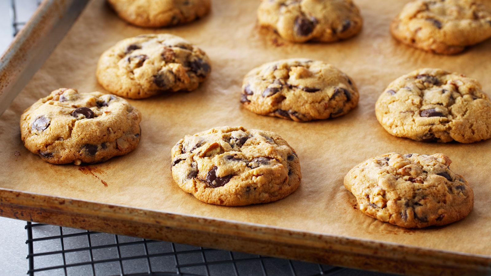 Galletas con pepitas de chocolate (Classic chocolate chip cookies) - Anna  Olson - Receta - Canal Cocina