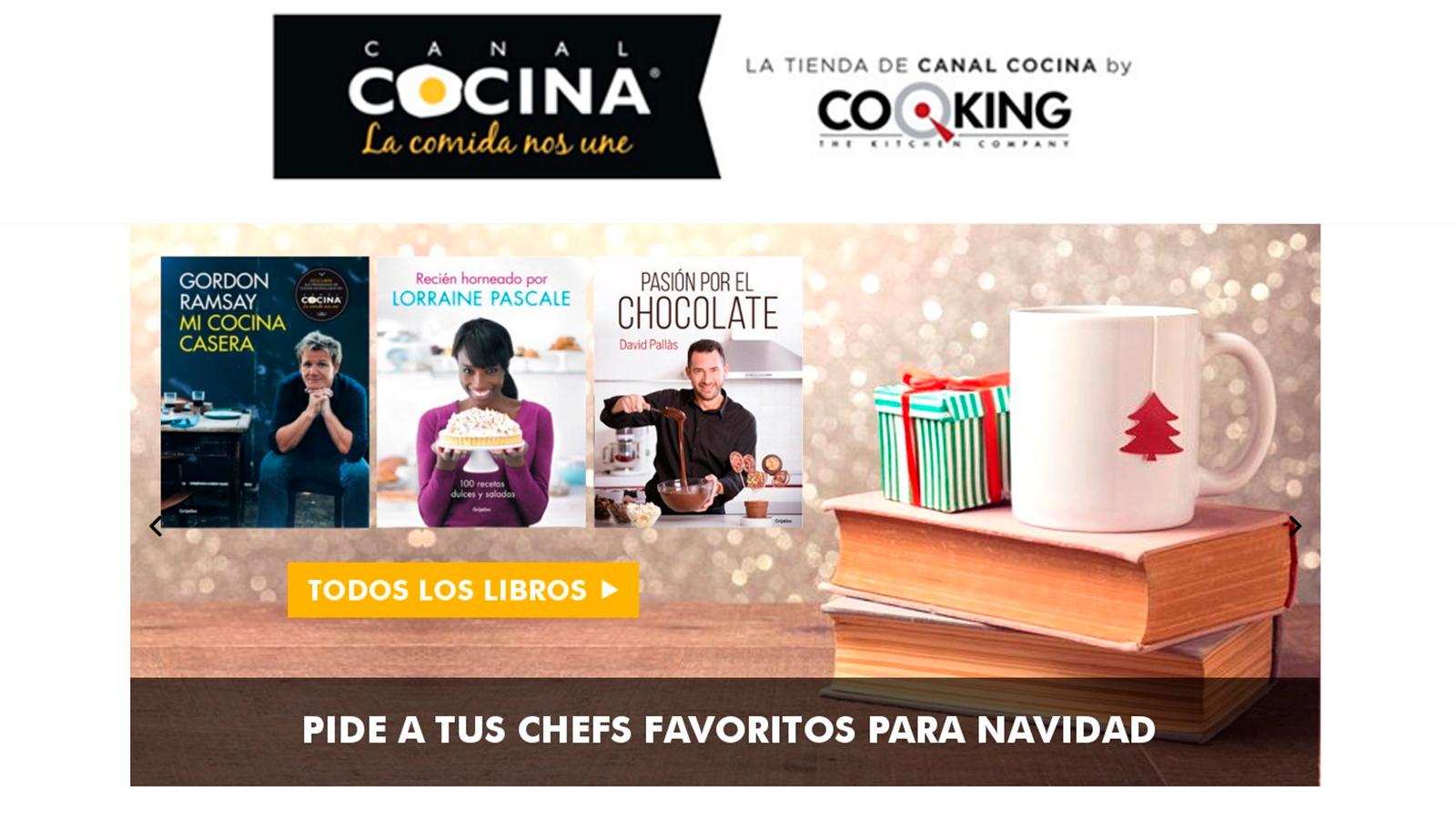 Los productos del mes de enero de la tienda de canal for Cocineros de canal cocina