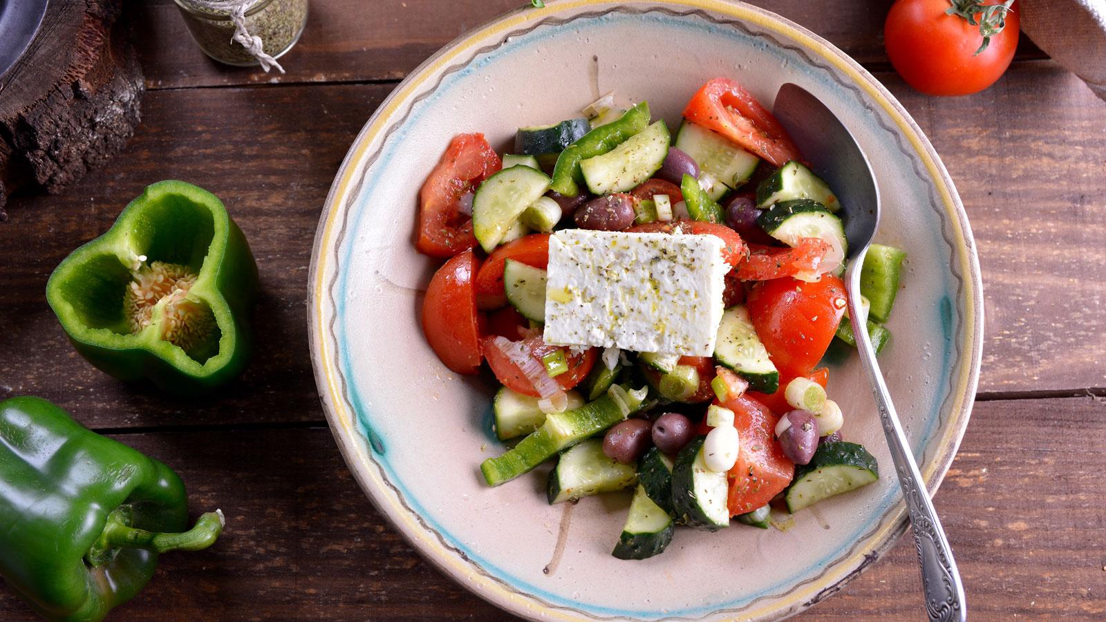ensalada griega salata jori tiki mar a zannia receta