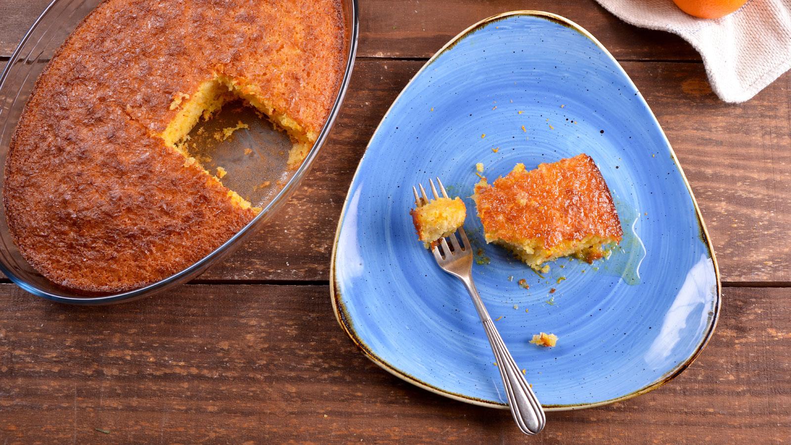 Pastel de naranja (Portokalópita) - María Zannia - Receta - Canal Cocina