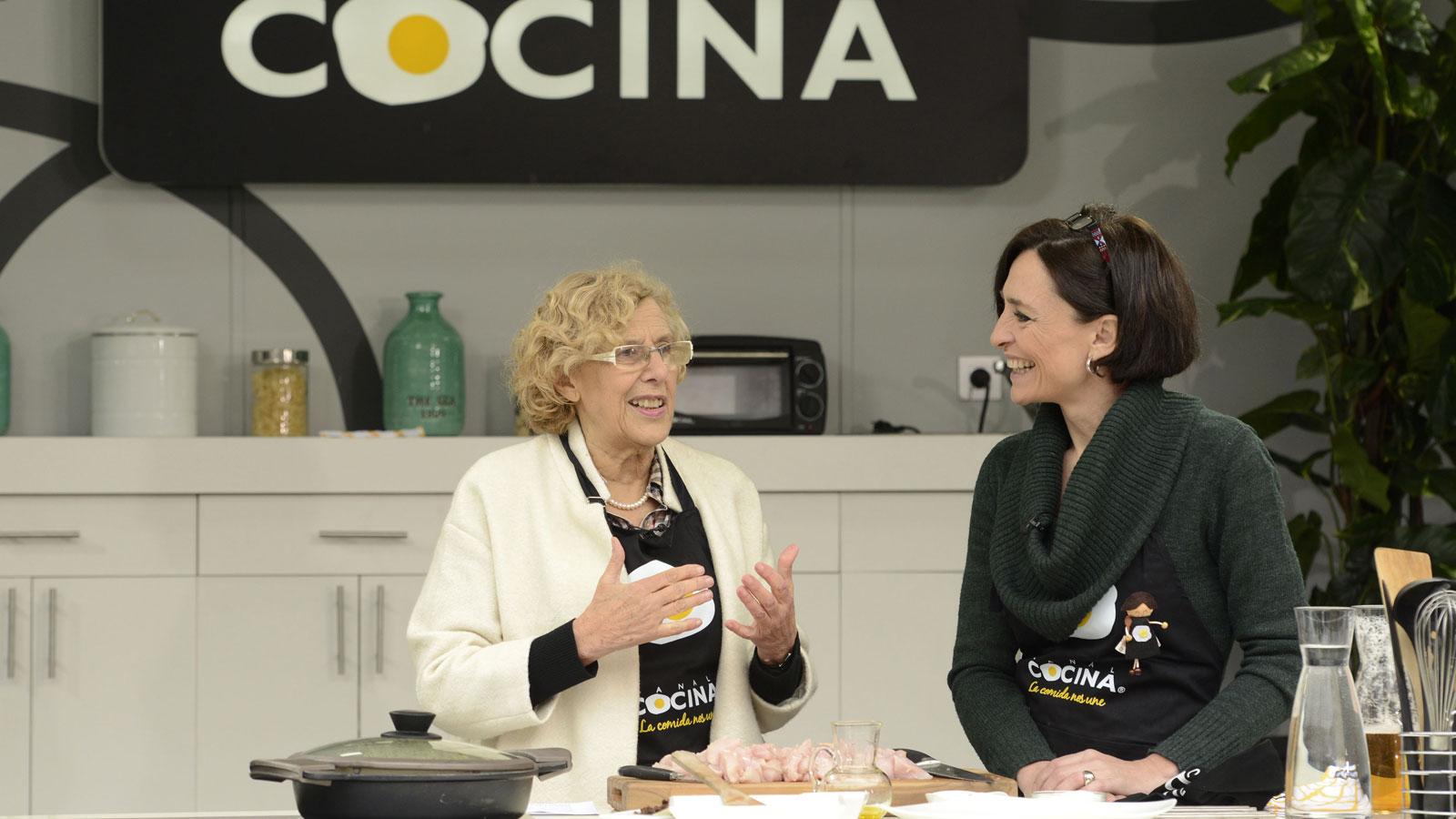 Manuela carmena revela 5 curiosidades sobre su vida en el for Programacion canal cocina hoy