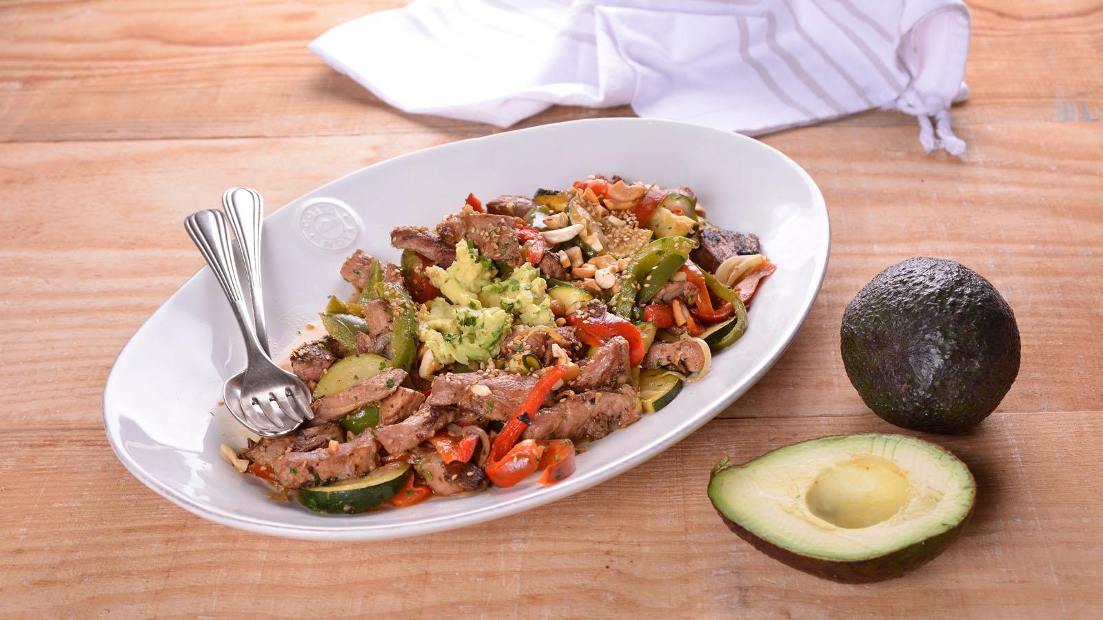 Wok de presa ib rica y verduras elena aymerich receta - Wok 4 cocinas granollers ...