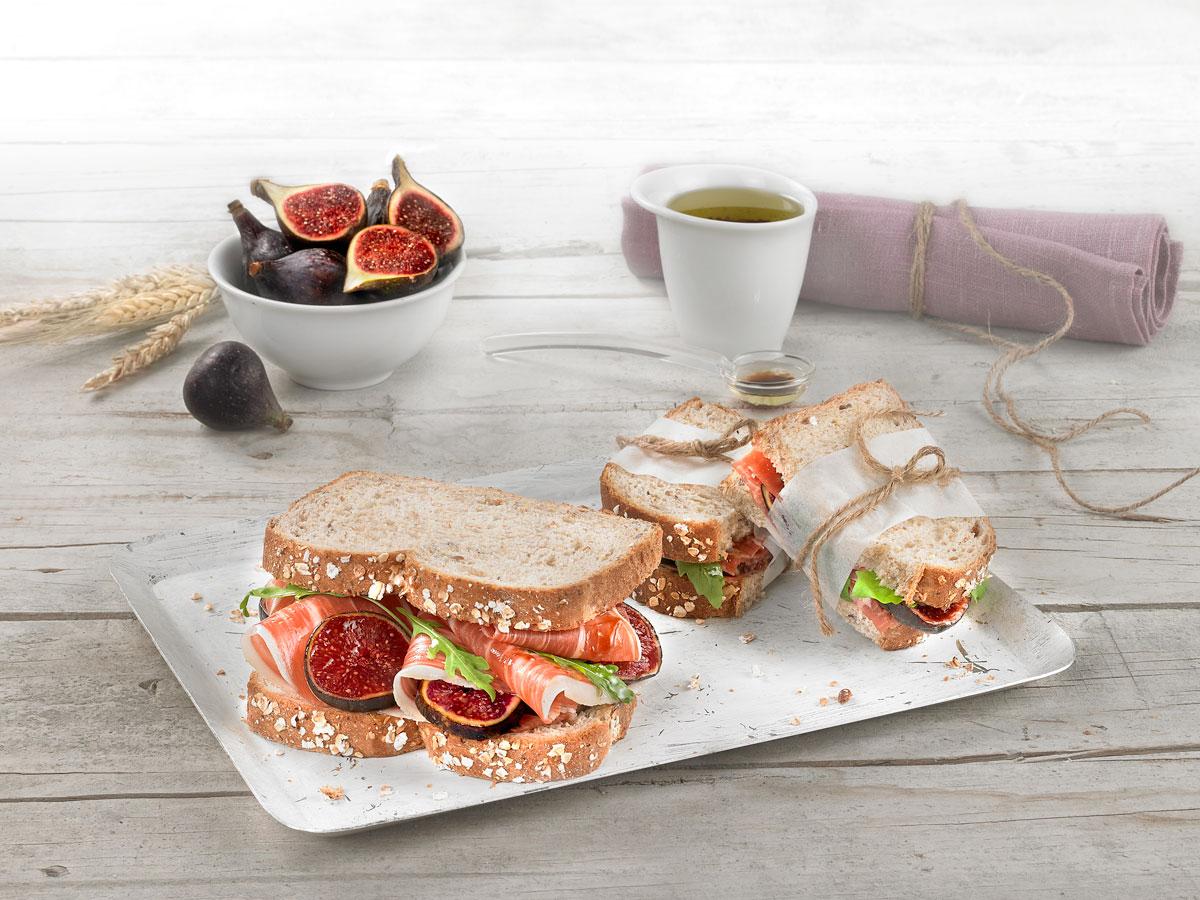 Sandwich Jamon Panrico Cerealia
