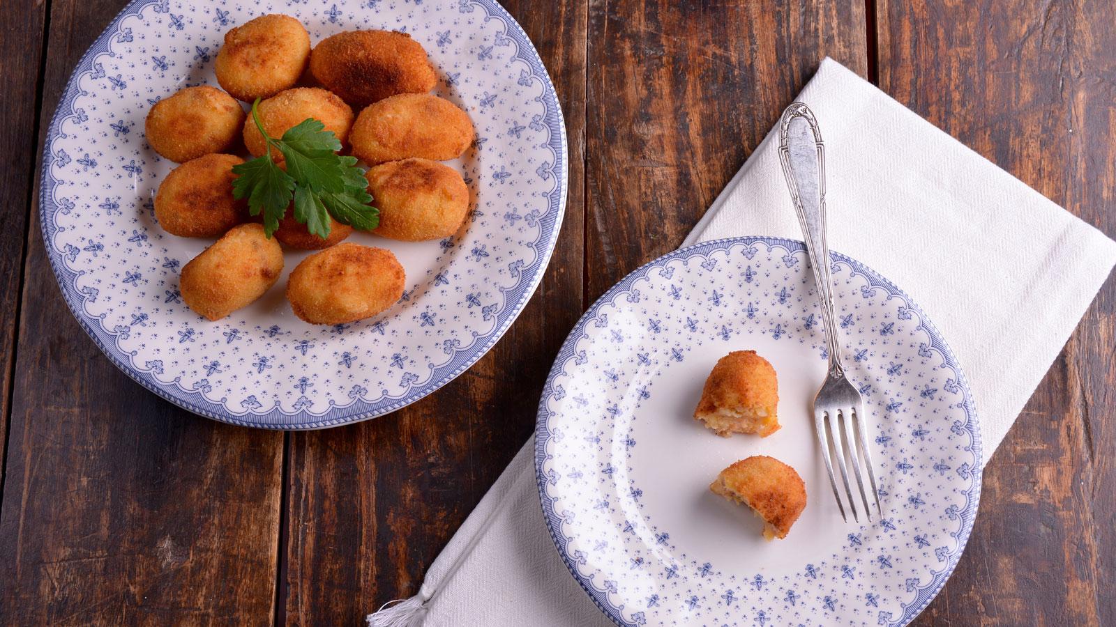 Croquetas de patata y zorza dolores valc rcel la for Cocina casera de la abuela