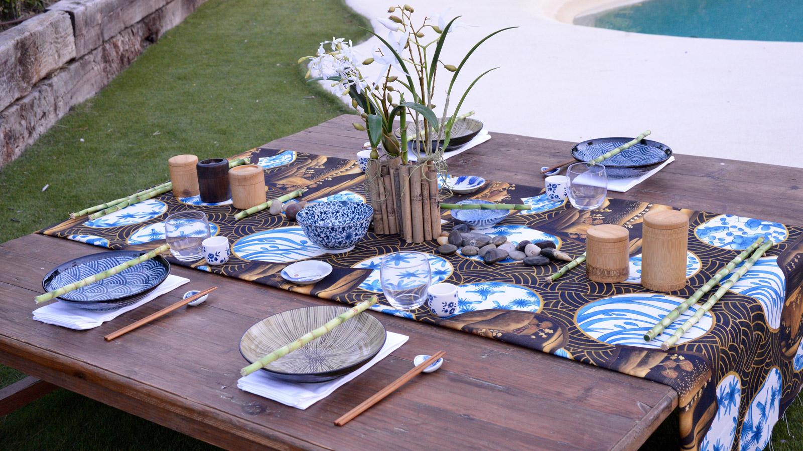 Dale un toque asi tico a tu mesa con una decoraci n - Mesas japonesas ...