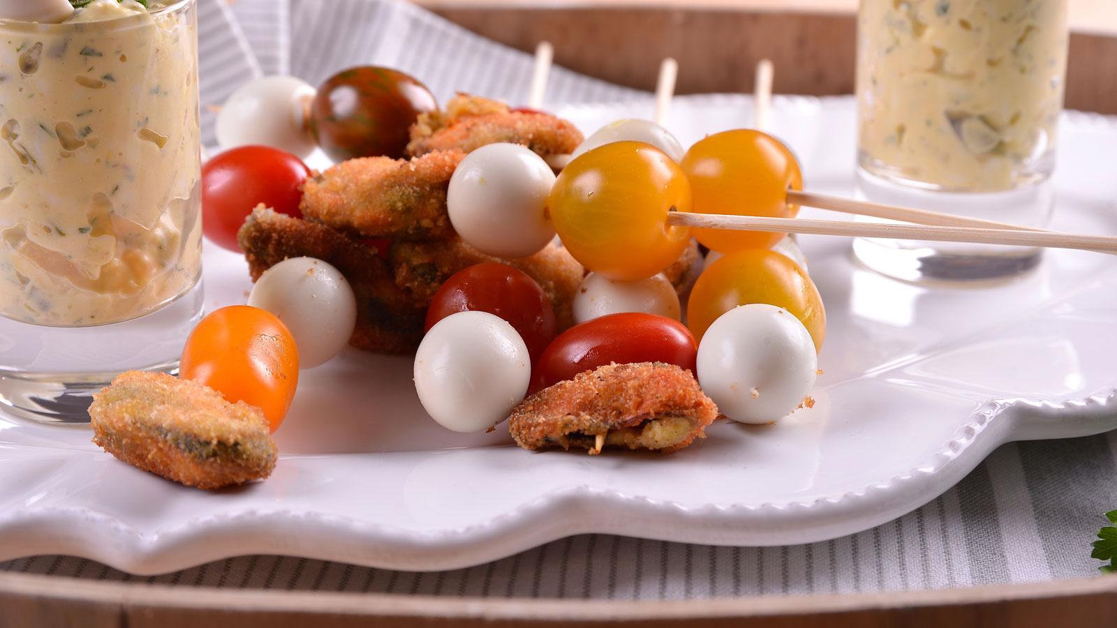 Brocheta de mejillones con salsa t rtara de yogur elena for Canal cocina cocina de familia