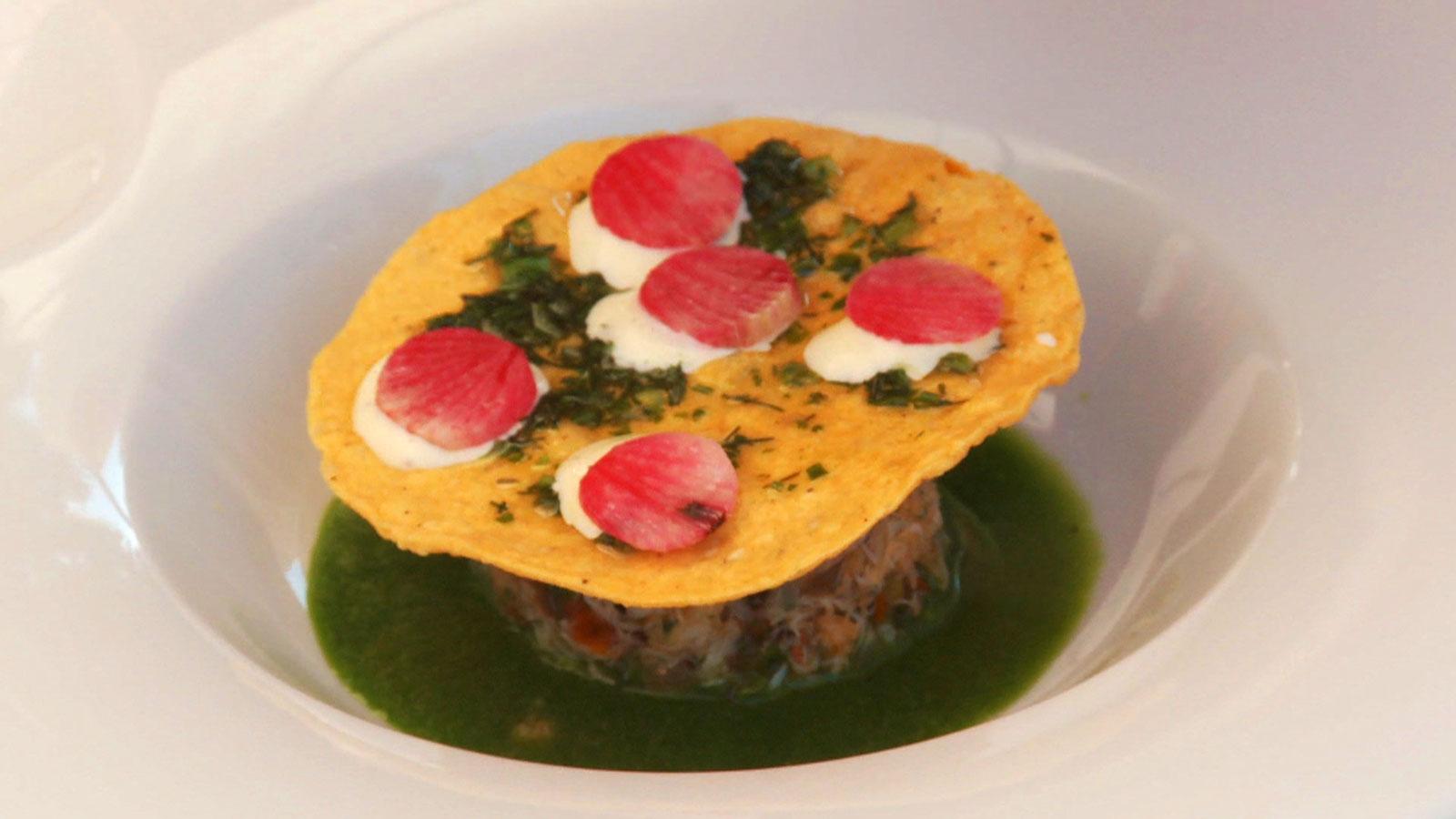 Estofado de jaiba jorge sierra receta canal cocina for Canal cocina mexicana
