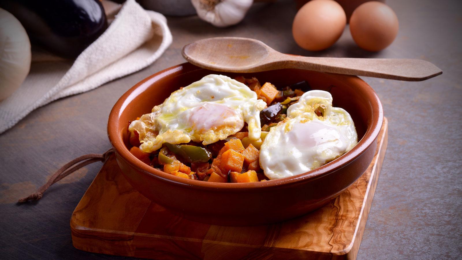Alboron a con huevos fritos hermana mar a jos receta canal cocina - Divinos pucheros maria jose ...