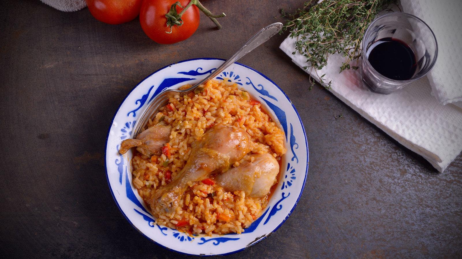 Arroz con verduras y pollo hermana mar a jos receta canal cocina - Divinos pucheros maria jose ...