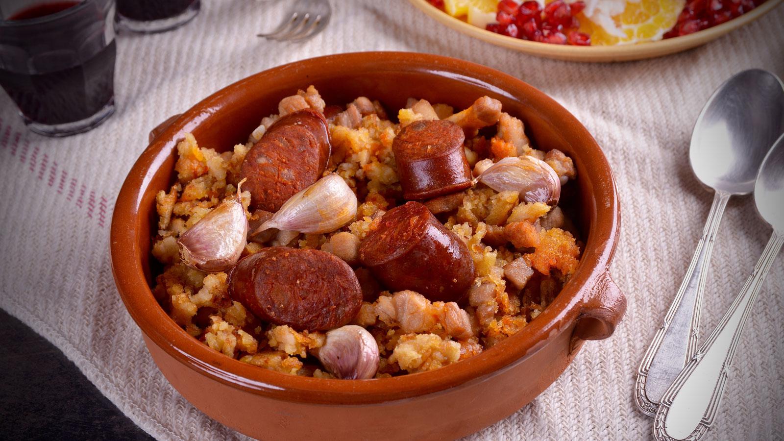 Migas al estilo andaluz hermana mar a jos receta canal cocina - Divinos pucheros maria jose ...