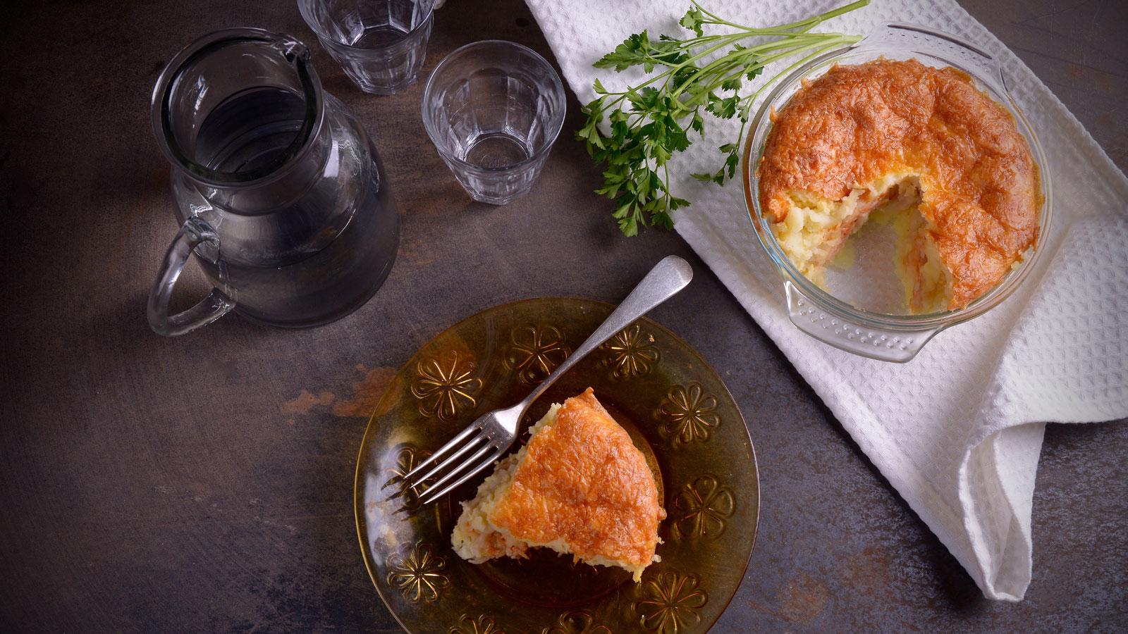 Pastel de bacalao hermana mar a jos receta canal cocina - Divinos pucheros maria jose ...