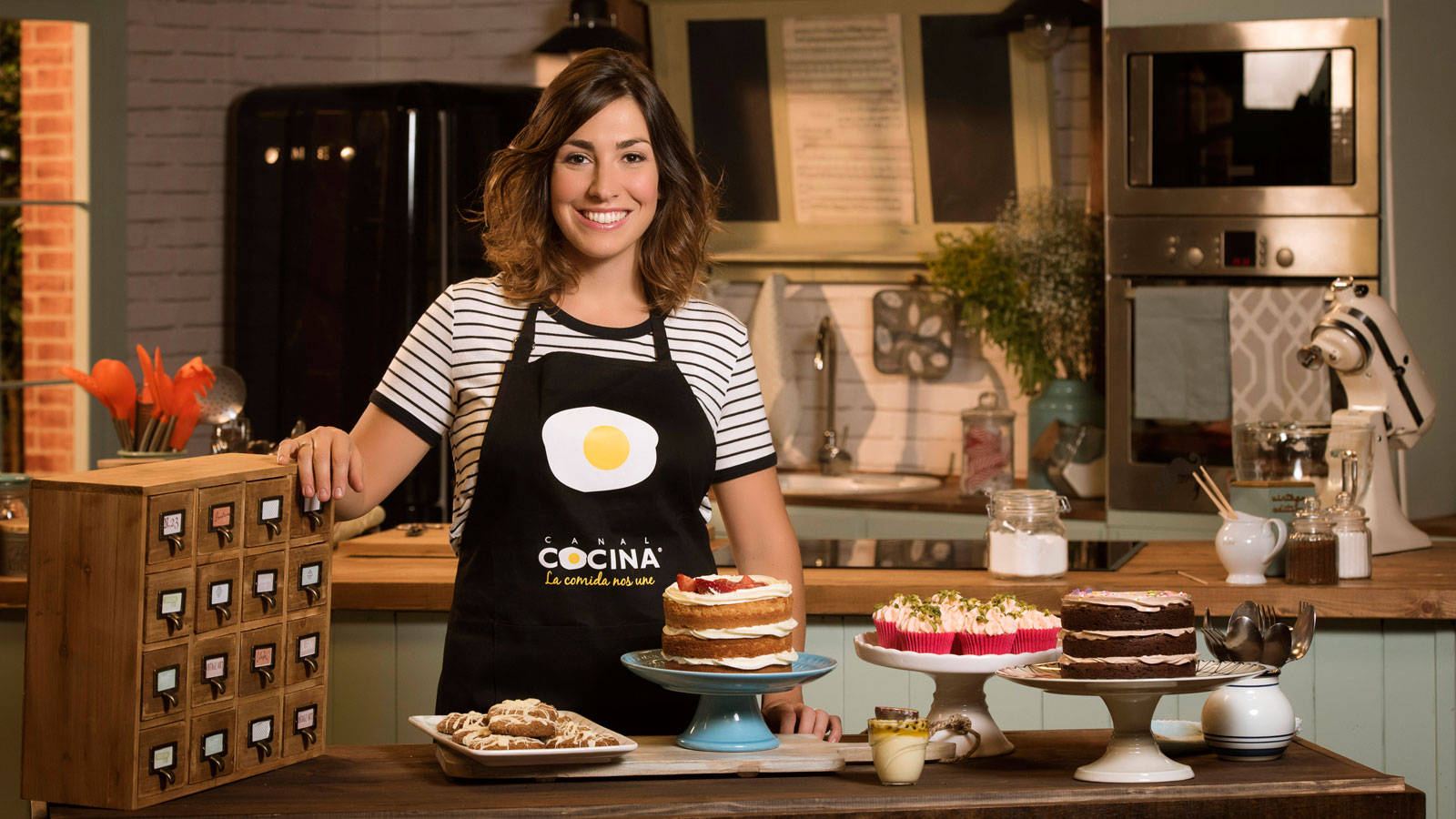 Alma obreg n vuelve a canal cocina con el estreno exclusivo de la segunda temporada de dulces - Cocina con alma ...