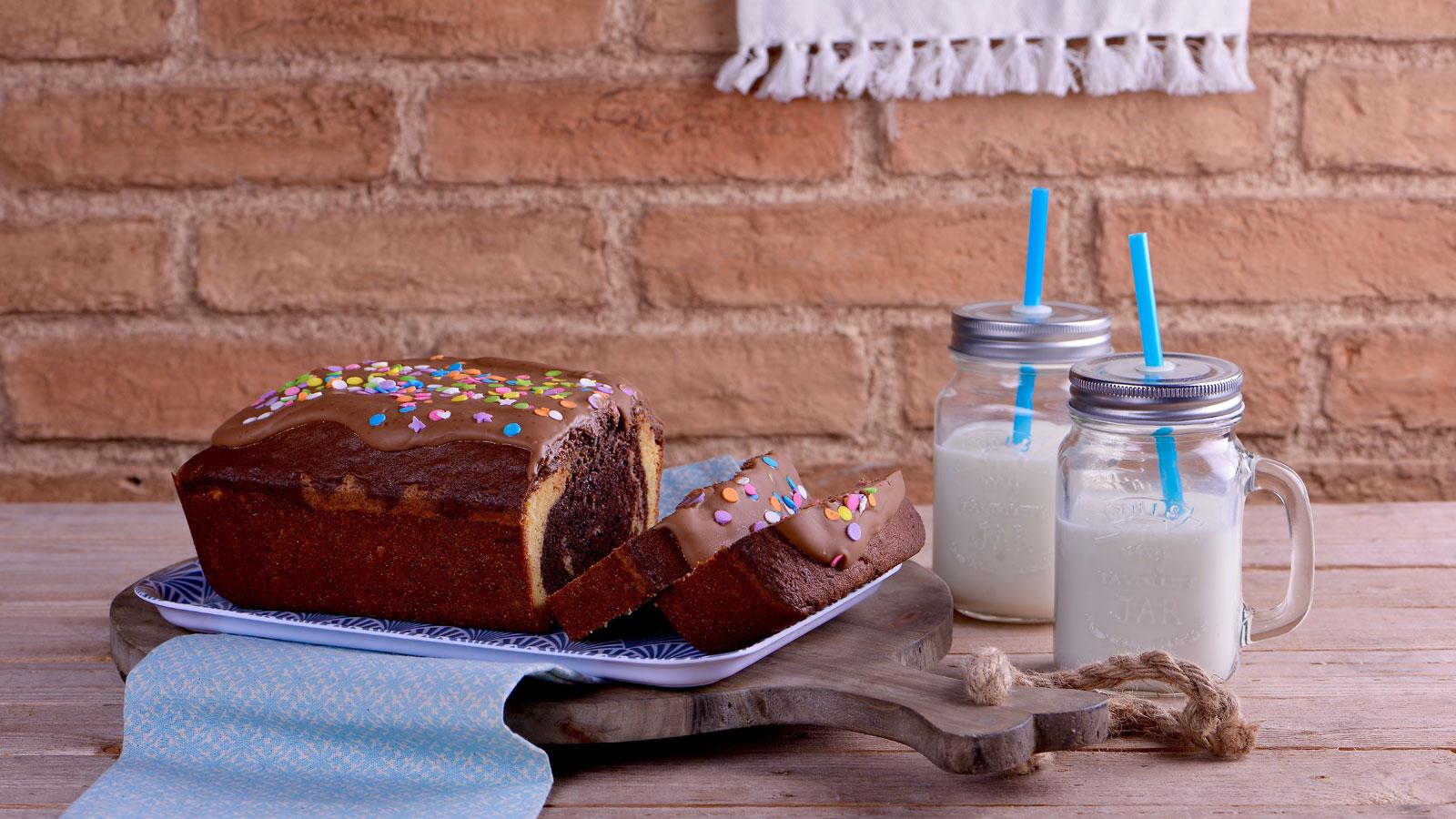 Bizcocho marmolado de desayuno alma obreg n receta for Canal cocina alma obregon