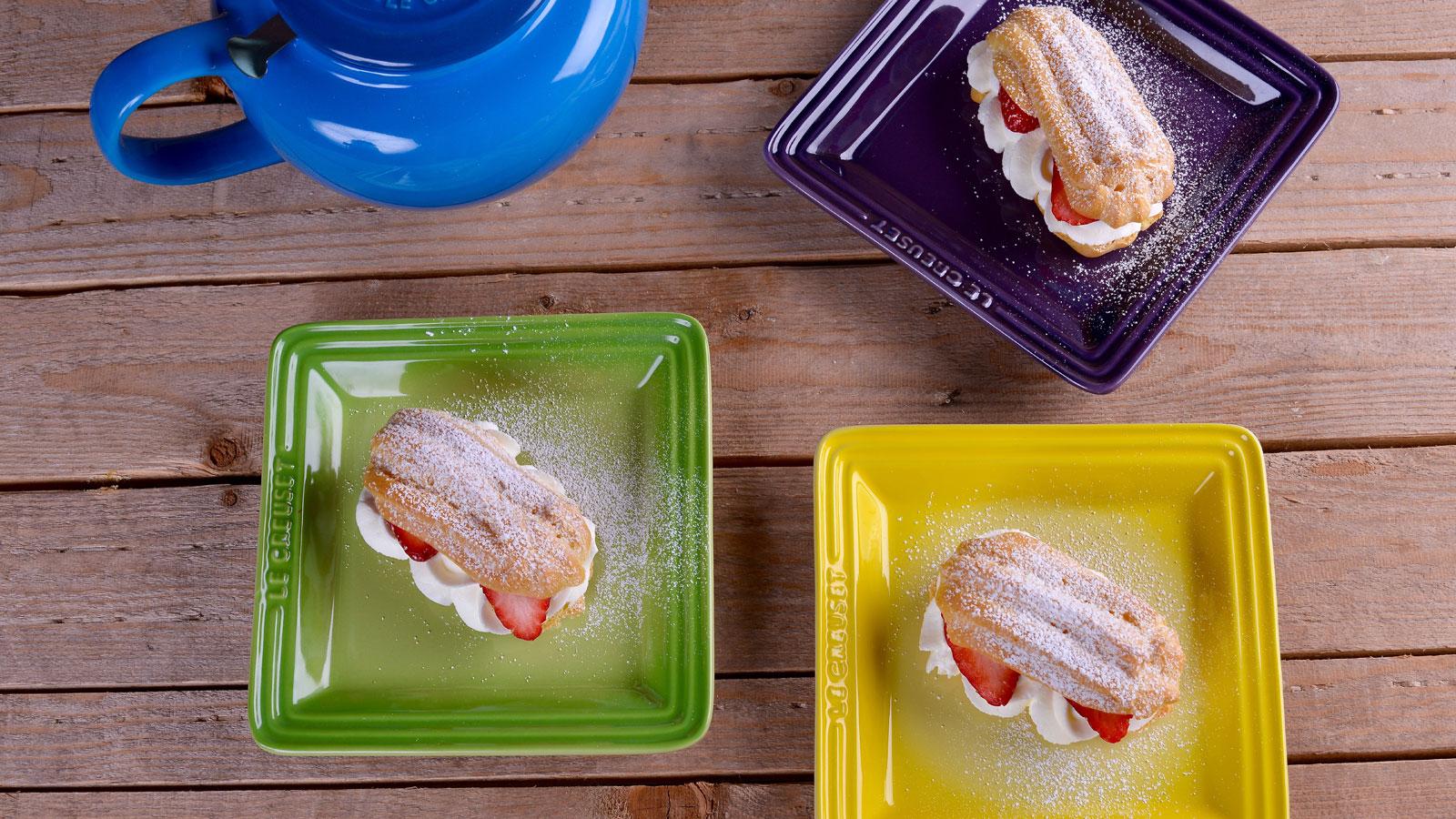 Rel mpagos de fresa y nata alma obreg n receta canal for Canal cocina alma obregon