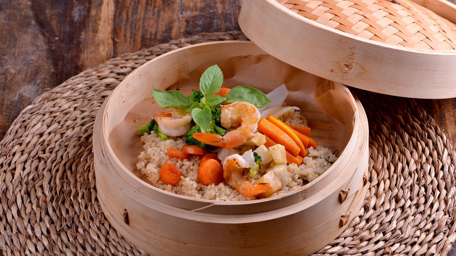 Quinoa estilo thai sergio fern ndez receta canal cocina for Canal cocina sergio fernandez