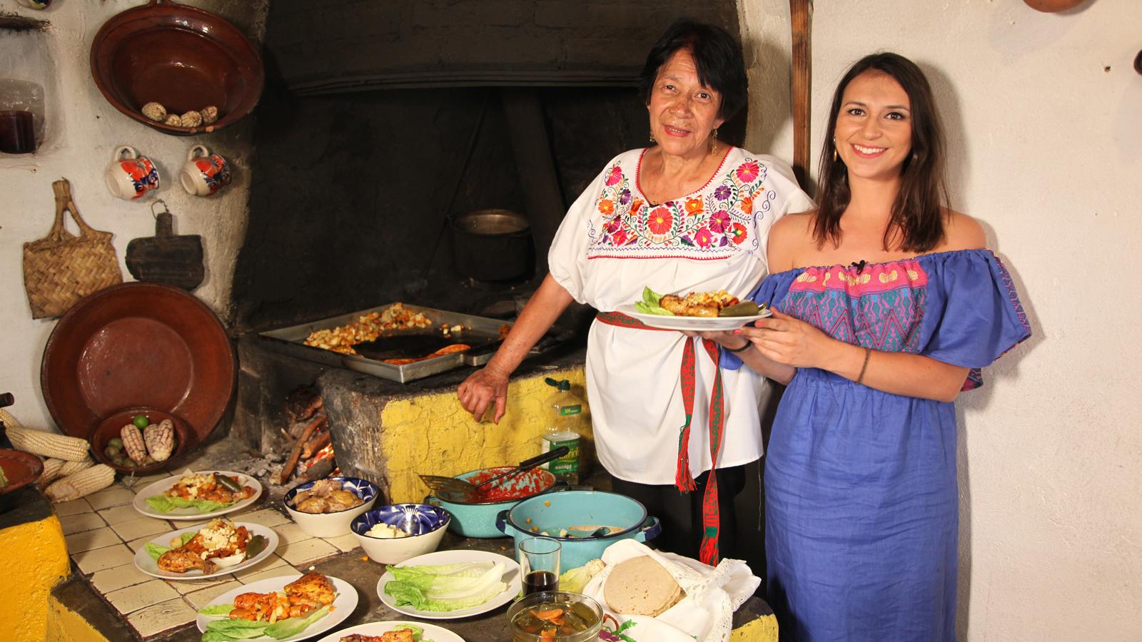 Canal cocina rinde homenaje a las aut nticas guardianas de for Canal cocina mexicana