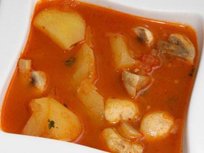 Patatas con champi ones diana cabrera receta canal for Diana cabrera canal cocina