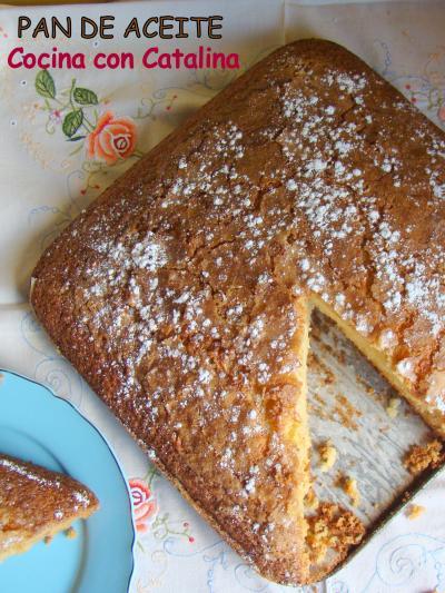 Pan de aceite o bizcocho hecho con masa madre casera niny receta canal cocina - Cocina casera a domicilio ...
