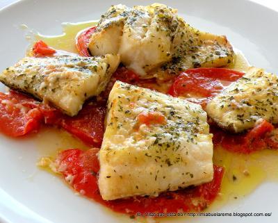 Bacalao con tomate distinto antoniobru receta canal cocina - Cocinar bacalao congelado ...
