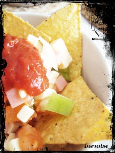 Ensalada de nachos mexicana receta canal cocina for Canal cocina mexicana