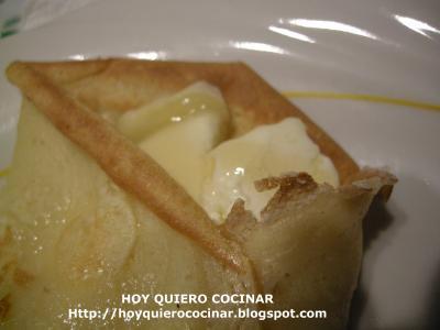 Cocinar Crepes | Crepes De Queso De Cabra Y Miel Hoy Quiero Cocinar Receta