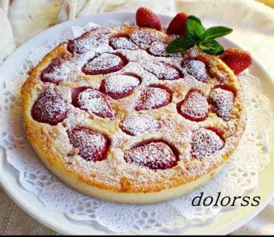 Clafoutis de fresa stian receta canal cocina for Chema de isidro canal cocina